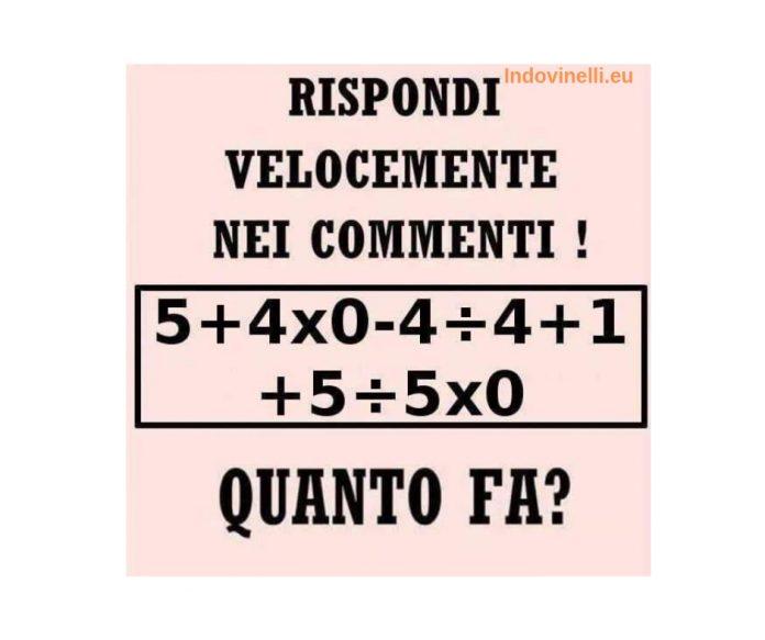 matematica complessa