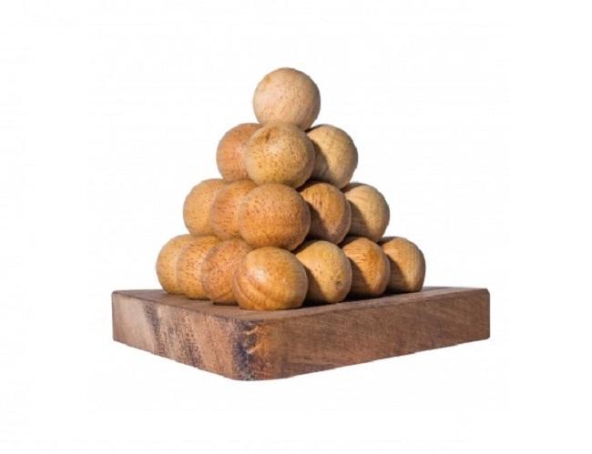 palline piramide soluzione